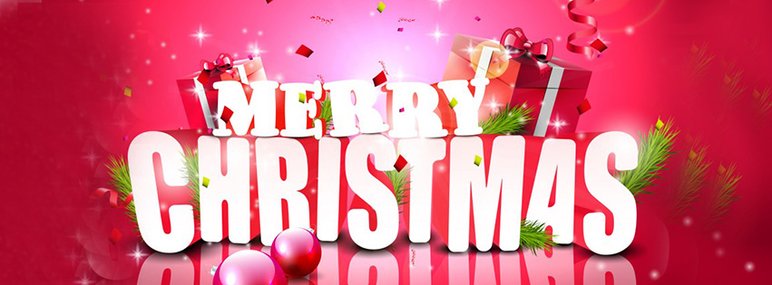 Merry Christmas 2016 Facebook Timeline Picture