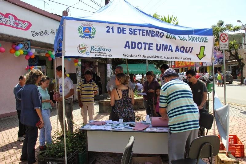 Prefeitura de Registro realizará Semana da Árvore
