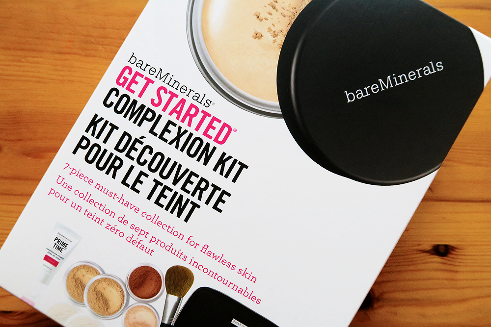 bareMinerals Get Started Complexion Kit in Fairly Light review