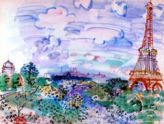 El Chalet Biester RAOUL_DUFY-The_Eiffel_Tower-1935