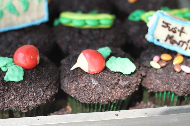 Candy Radish Cupcakes Hello Cupcake