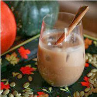 Easy Drink Recipe Horchata with Chocolate and Pumkin Seeds
