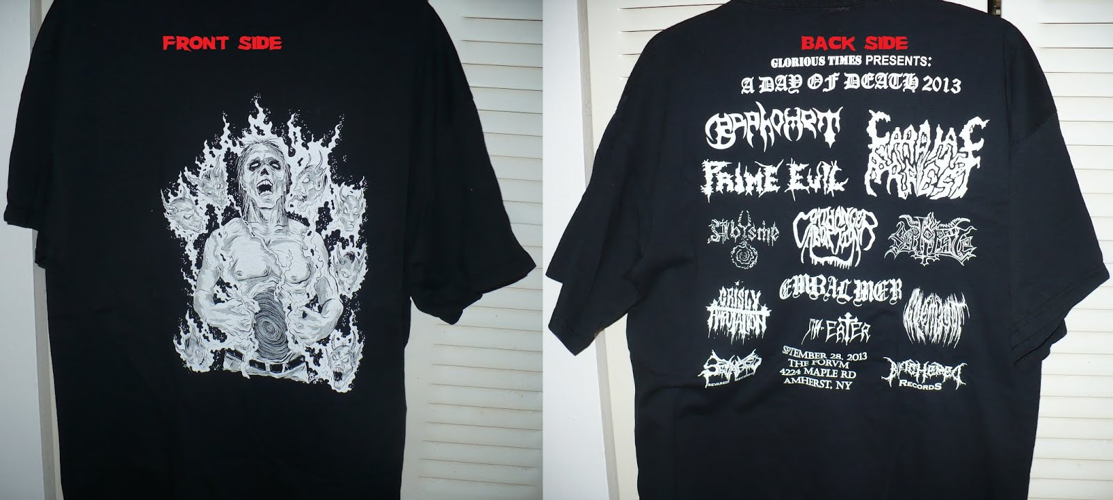 DAY OF DEATH FEST 2013 T-shirt