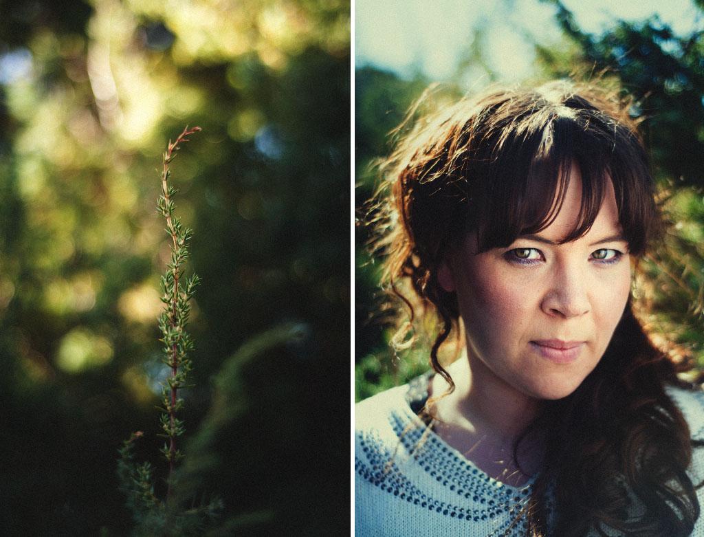 Porträtt på Anna Siirtola