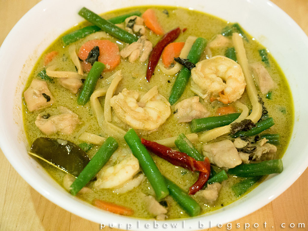 Marion's Kitchen Thai green curry
