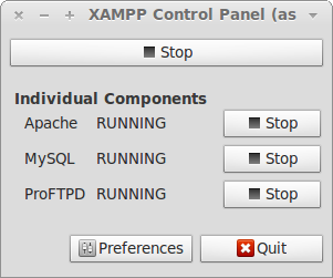 Menginstall XAMPP di ubuntu 12.04, ubuntu 12.10, Linux mint 13, dan Linux Mint 14 lewat PPA