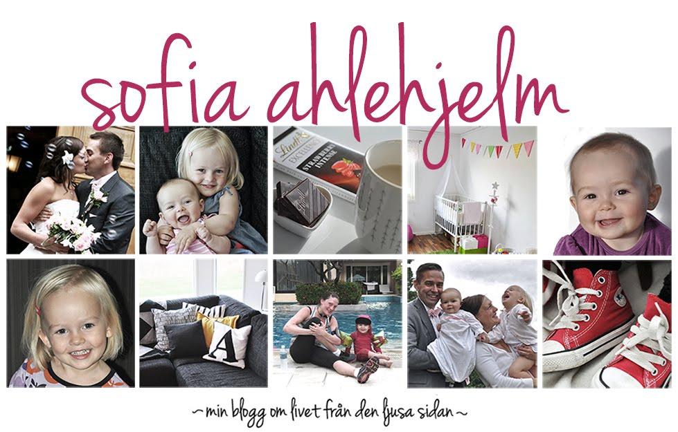 Sofia Ahlehjelms blogg