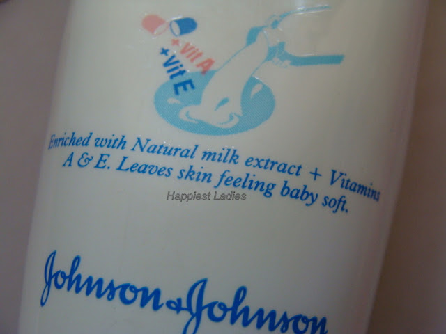 Johnson's  Baby Milk Cream Review Product Key Ingredients