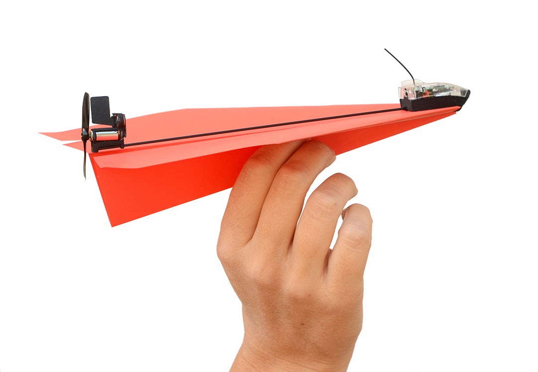 powerup 3 0 aviao papel controle remoto