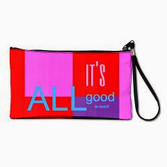 It's ALL good Bright Lights Clutch Bag