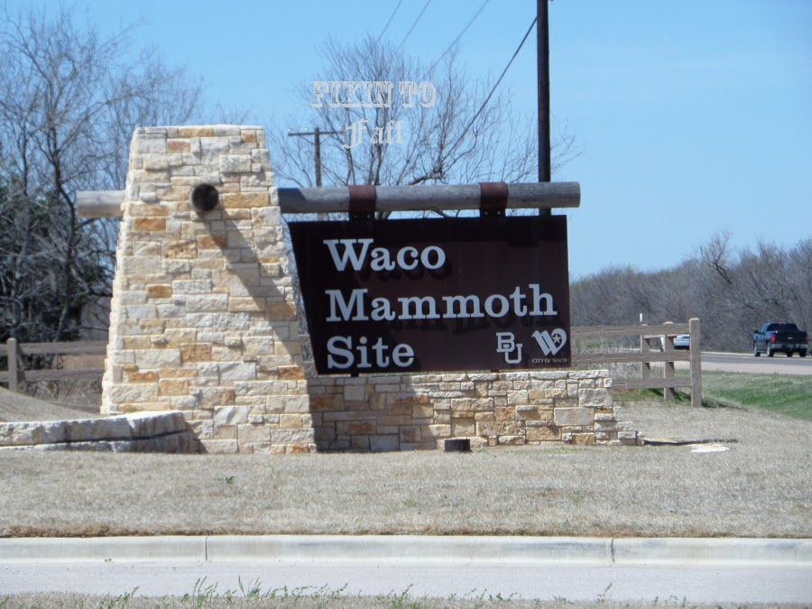 Waco Mammoth Site Entrance