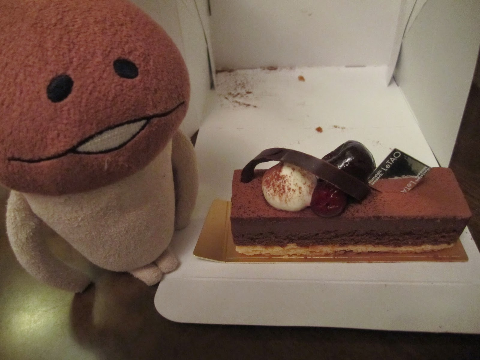 LeTao chocolate cake