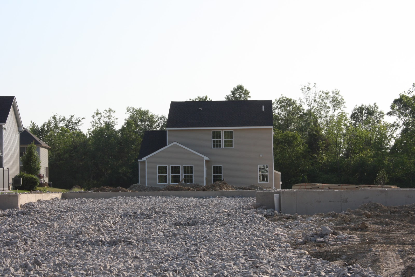 Ryan Homes Florence In Buffalo Siding Is Up