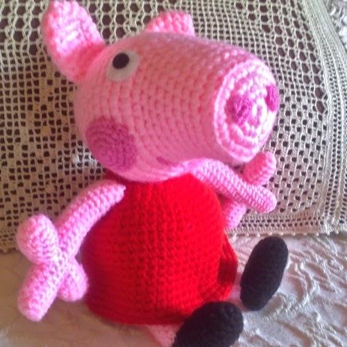 Patrones Amigurumi: Peppa Pig