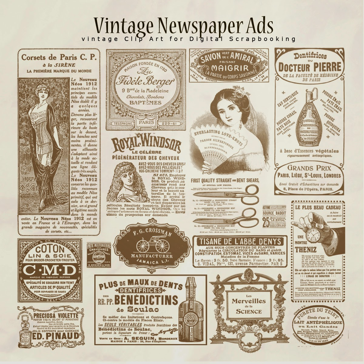 Vintage Newspaper Ads jpgVintage Newspaper Ads