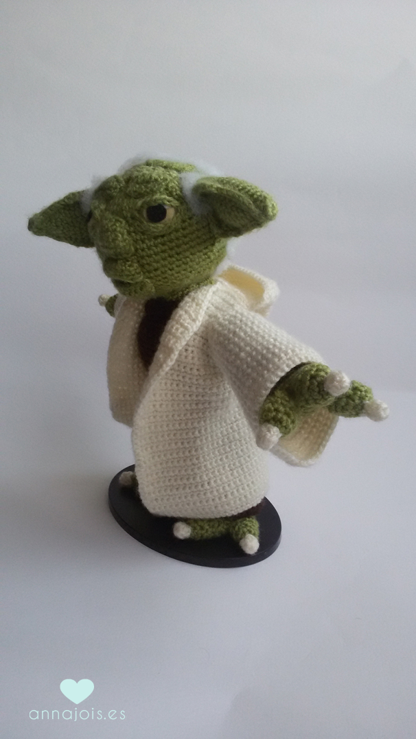 Amigurumi Yoda- May the 4th Be With You - Star Wars Day ...