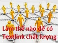 Dịch vụ đặt textlink