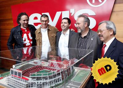 El nuevo estadio de los 49ers se llamará Levi's