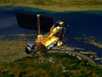satelite caerá a tierra