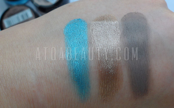 Maybelline Color Tattoo 20 Turquoise Forever, 35 On and on Bronze, 40 Permanent Taupe