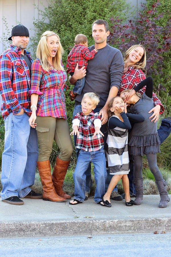 Plaid family photos