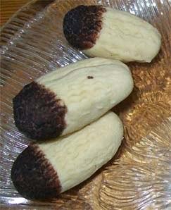 rezept vegan  - katzenpfoten - kekse weihnachtskekse
