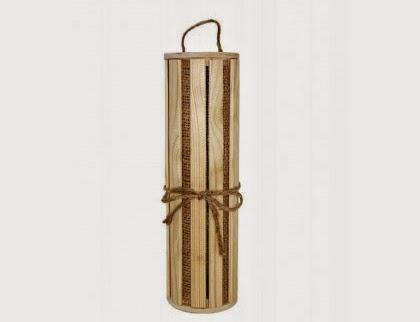 cutie de lemn pentru sticla de vin