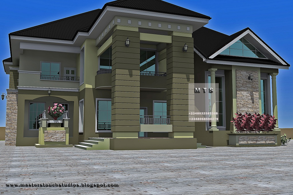Residential Homes and Public Designs: 5 Bedroom Duplex