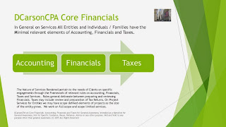 DCarsonCPA on Financial Statements and Accounting