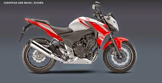 The New Honda CB500F 2015