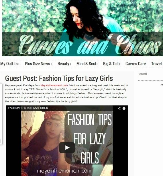 http://curvesandchaos.com/2014/08/fashion-tips-for-lazy-girls.html