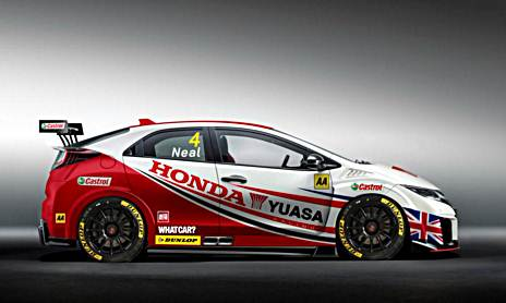 Honda Civic Type R Racer Brings 350 HP to British Touring Car Championship
