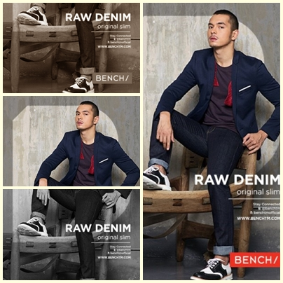Jake Cuenca for Bench Back to School (Denim Campaign) 2013