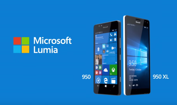 Lumia 950 and 950XL in official Microsoft promotion video