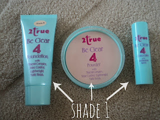 2True Be Clear 4 Foundation,Concealer + Powder Review
