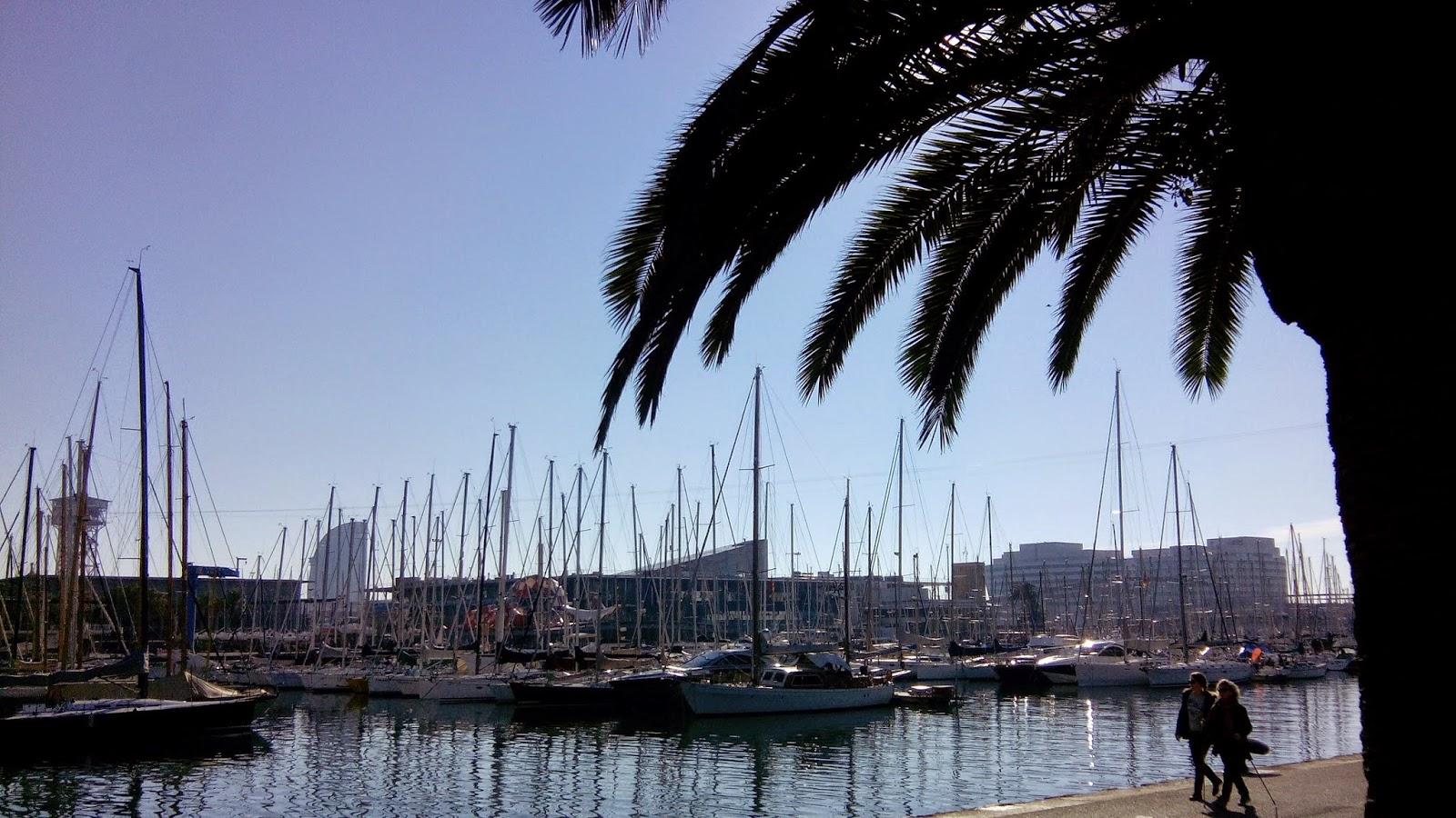 escapada a Barcelona- el paseo marítimo