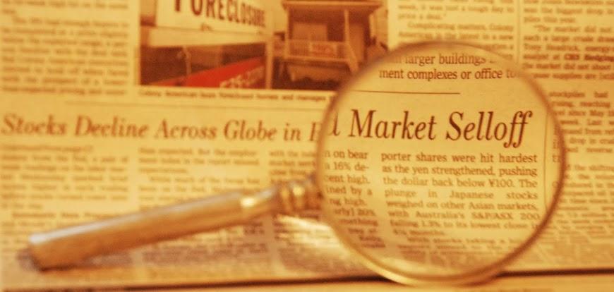 market selloff headline