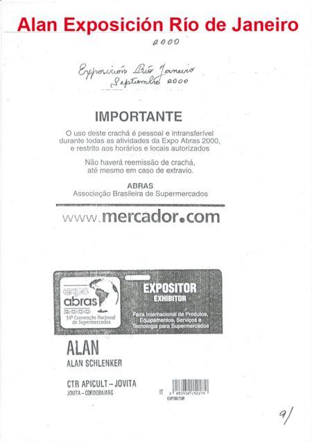 REPRESENTANDO A APICULTORES DE CÓRDOBA EN BRASIL