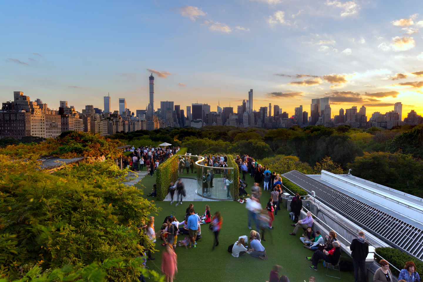 Cantor Roof Garden Bar Best Rooftop Bars In Nyc New York