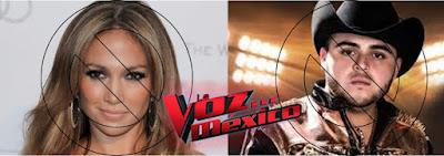 Jennifer López y Gerardo Ortiz Descartados Para La Voz México