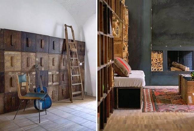 Heteruf designs loft box house estilo ecl ctico vintage for Diseno vintage interiores