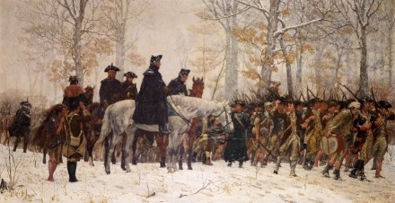 March to Valley Forge By William Trego