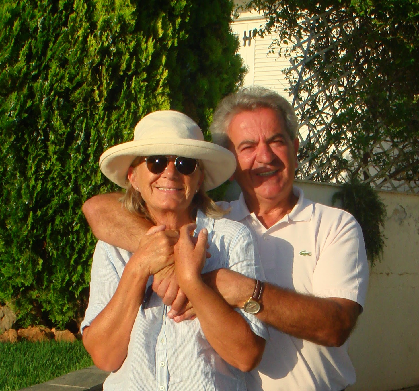 The two of us,Susan & Tassos