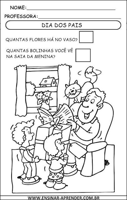 DIA DOS PAIS ATIVIDADES 2013