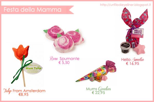 Idee Regalo: Festa della Mamma Lush