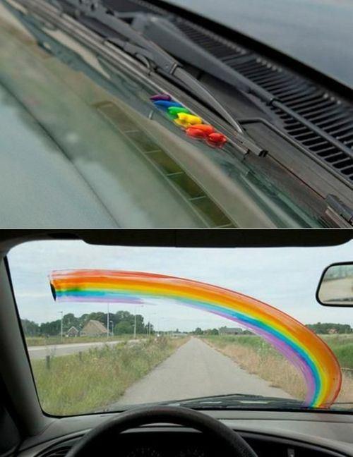 massinha colorida, arco iris, 6 metodos para fazer as pessoas te odiarem, eu adoro morar na internet