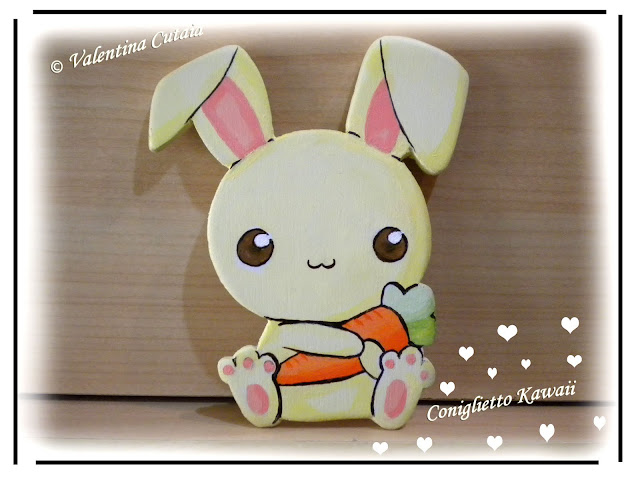 Evenstar bottega del legno coniglietto kawaii for Immagini disegni kawaii
