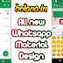 Whatsapp Material Design V2.5 (New Interface)
