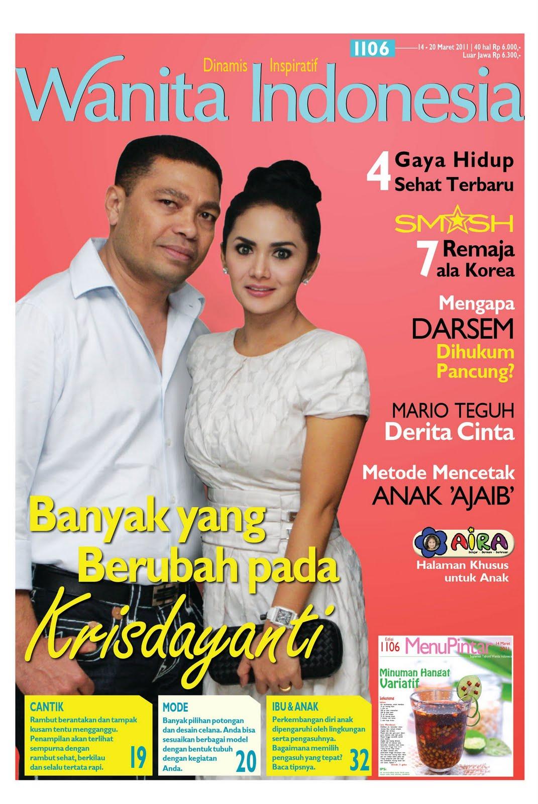 tabloid wanita indonesia tabloid wanita indonesia edisi 1106