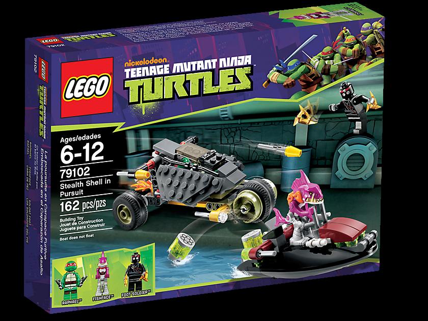 ninja turtle lego games